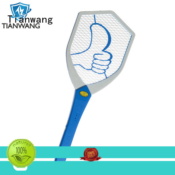 Tianwang effective electric mosquito racket best factory price oem&odm