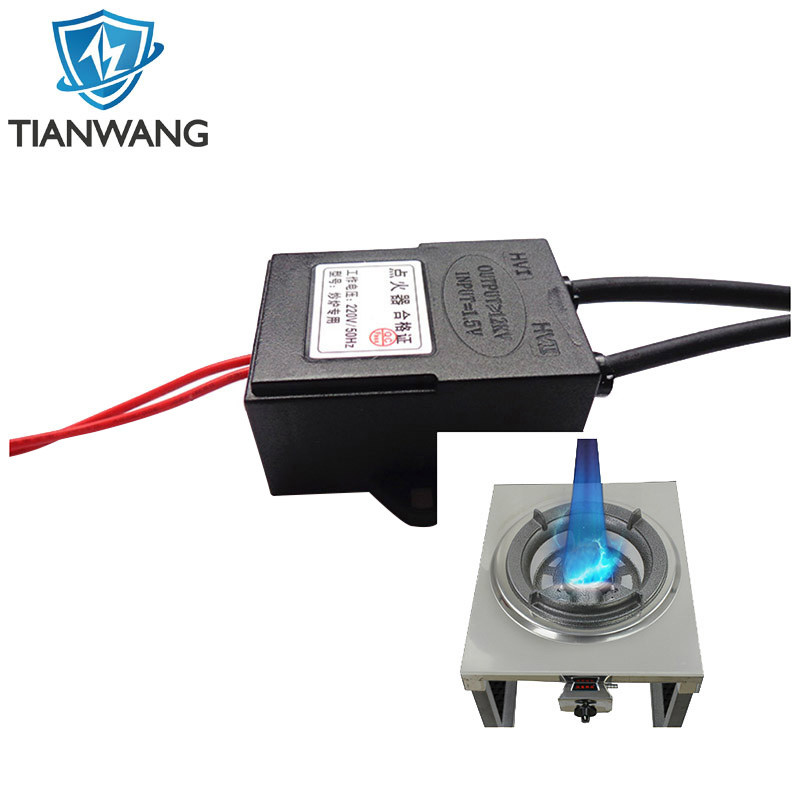 110V/220V Input Electronic pulse igniter with battery for gas burner/oven/stove