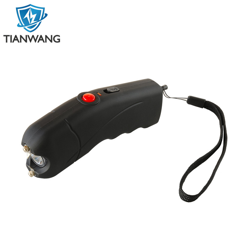 Personal Protection LED Flashlight Stun Guns with Safety Guard