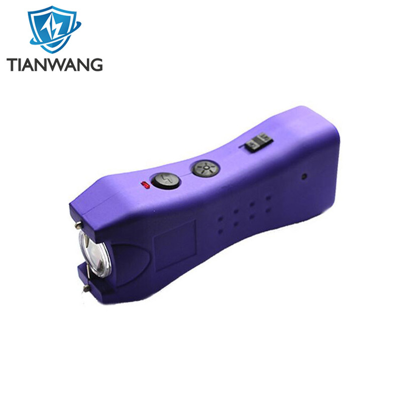 250kv Personal Protection LED Torch Stun Gun with Holster