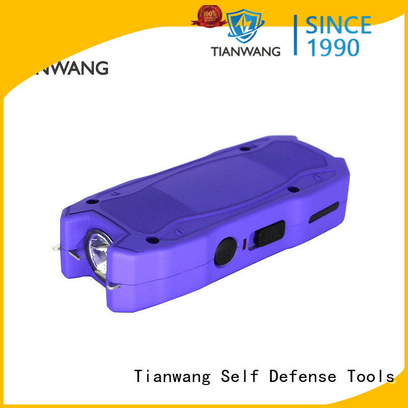 Tianwang energy-saving self defense taser custom for lady