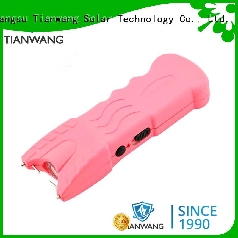 Tianwang handy stun flashlight custom for police