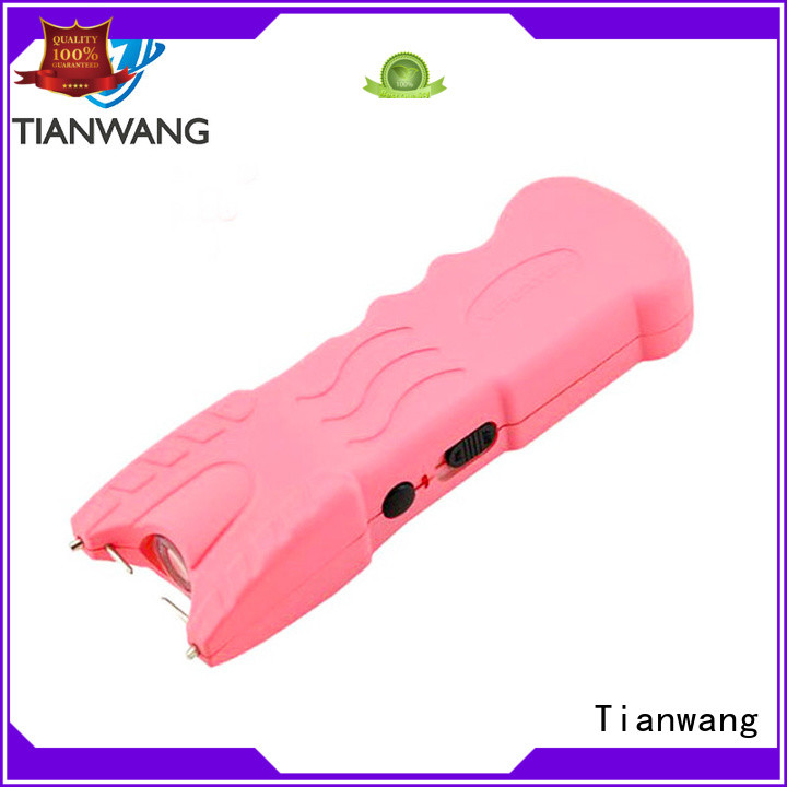 Tianwang stun flashlight custom for wholesale