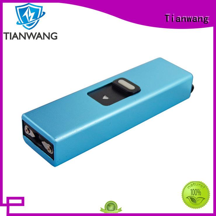Tianwang handy rechargeable stun gun oem&odm for lady