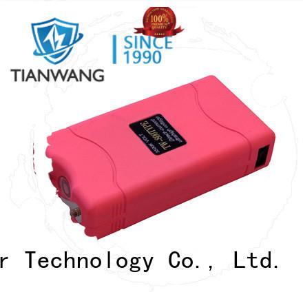 Tianwang rechargeable stun gun bulk supply for lady