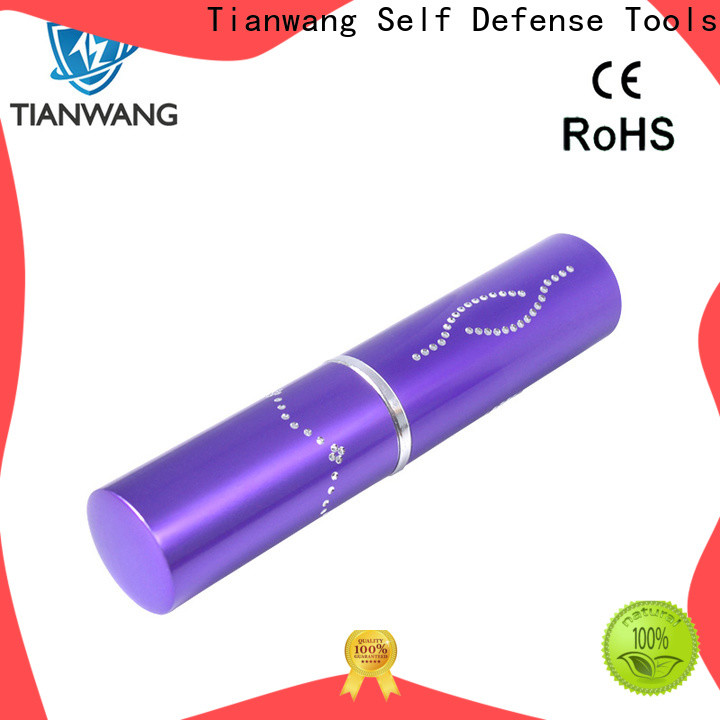 Tianwang high quality police stun gun custom for lady