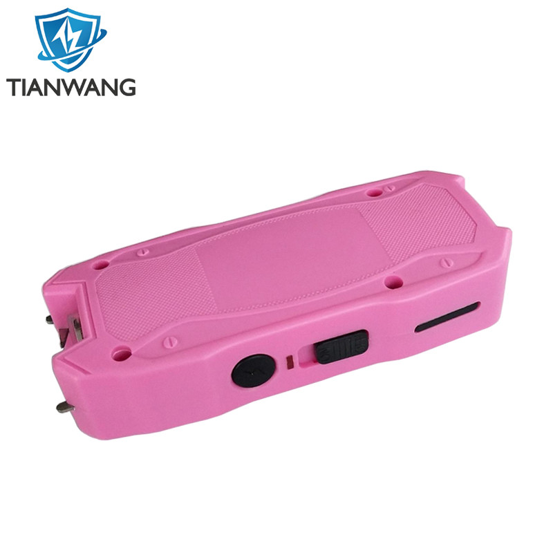 New Design Stun Gun Electric Shock Taser with battery indicator for wholesale