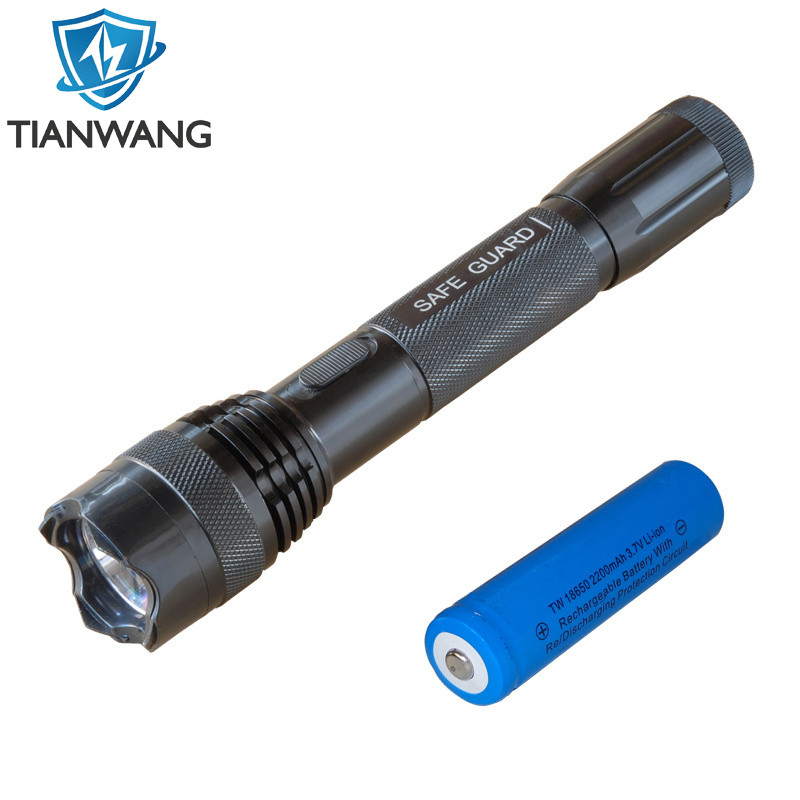 USB Cable 4million Volt Aluminum Alloy with Lithium Battery Stun Guns(TW-C01)