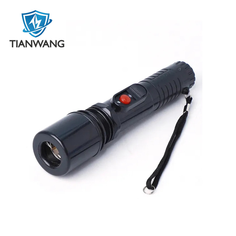Solid Police Security Flashlight Torch with Wrist-Strap Stun Guns(TW-305)