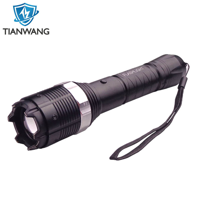 Aluminum Alloy Voltage Electric Shock Adjustable Flashlight (TW-8810) Stun Guns
