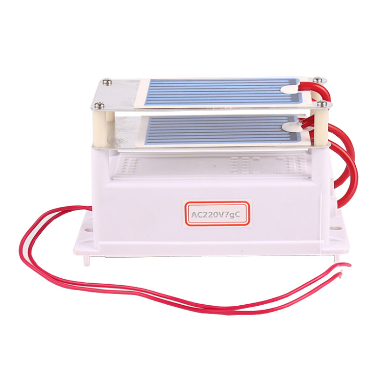 Ozone Generator 7g with double Ceramic Plate Long Life Style Longevity Double Sheet For Chemical Factory